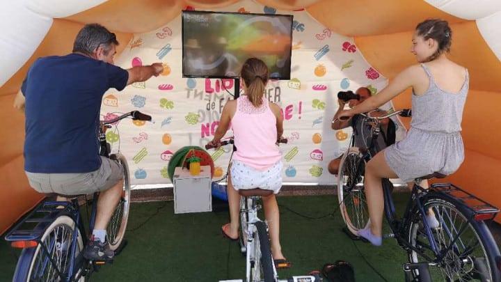 Quiz à vélo Sodebo