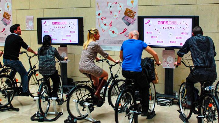 Vélos solidaires Caisse d'Epargne