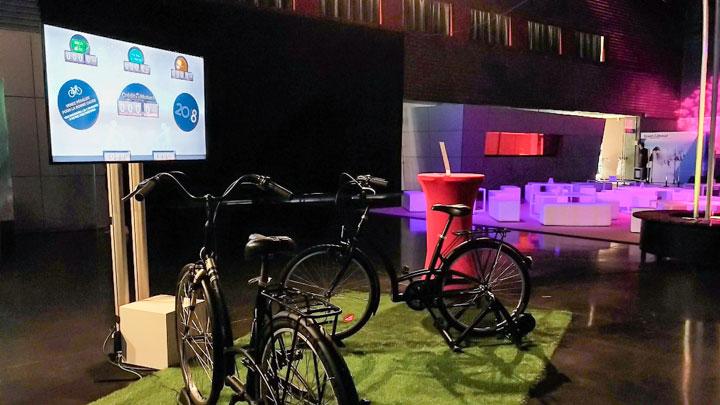 Vélos solidaires Crédit Mutuel