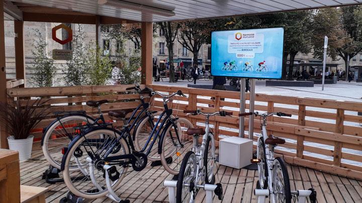 Challenge vélo Harmonie Mutuelle