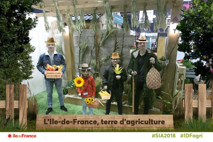 Animation photo Ile de France Salon de l'Agriculture