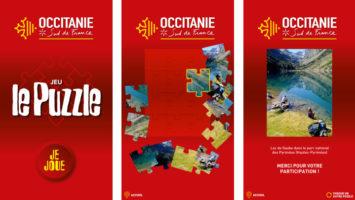 Puzzle Occitanie