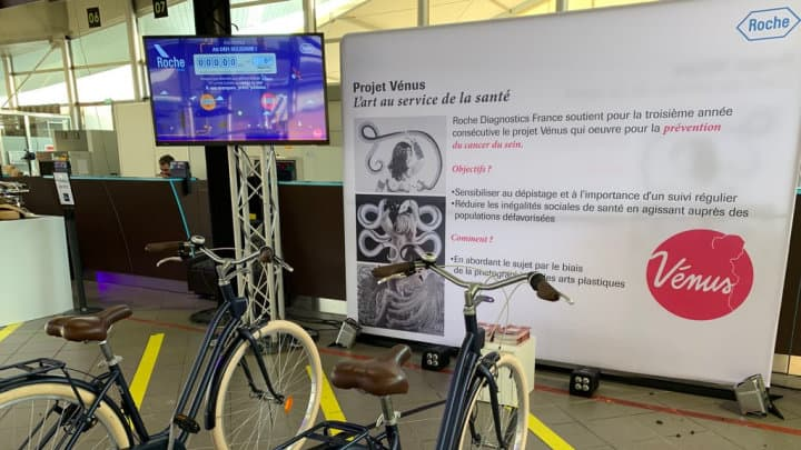 Vélos solidaires Roche