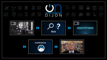 Borne interactive Dijon