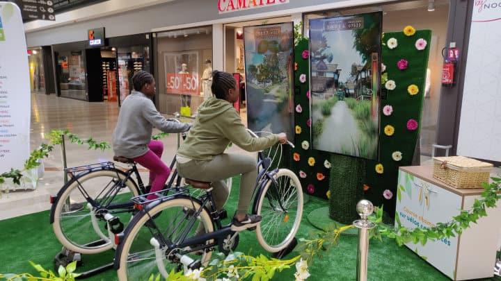 Challenge à vélo 3D PinceVent