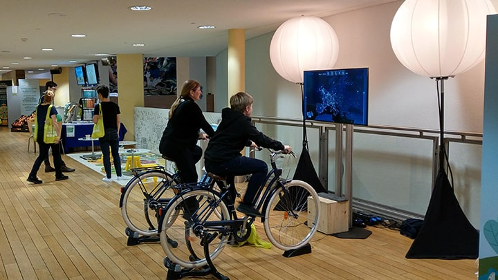 Animation Vélo Commission Européenne