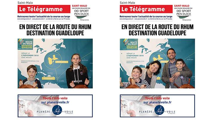Route du Rhum Le Télégramme